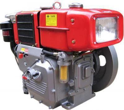 Запчасти для дизельного двигателя R190N(NM)/R195N(NM) - 10/12 л.с.