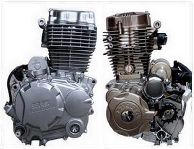 Запчасти на мотоциклетный двигатель CG125-200cc