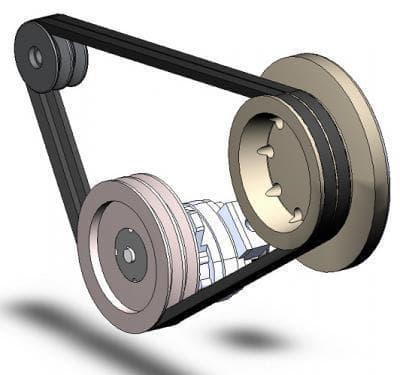 Приводные ремни, ролики, шкивы для мотоблоков