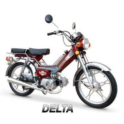 Запчасти для мопеда Delta (Viper)