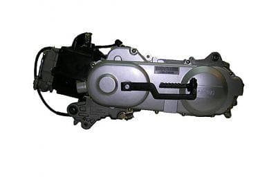 Запчасти для китайских скутеров (двигатель 2-T ременной вариатор)
