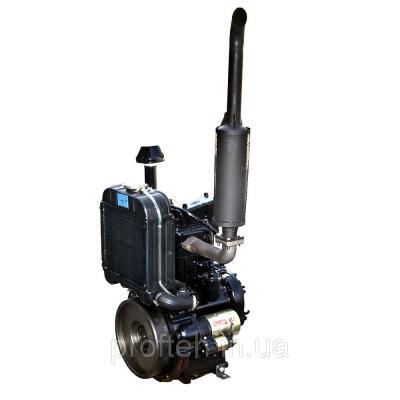 Запчасти на дизельный двигатель DL190-12 (1-цилиндр, 4т, 12 л.с., вод.охл.) на минитрактор Xingtai 120