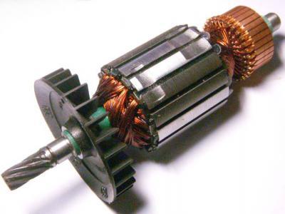 Якоря электродвигателя для электропил