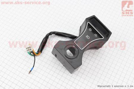 Датчик-индикатор КПП в корпусе ALPHA для мопедов Delta (Viper) купить в Украине