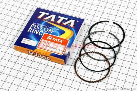 Кольца поршневые 70сс 47мм +0,25 для мопедов Delta (Viper) купить в Украине