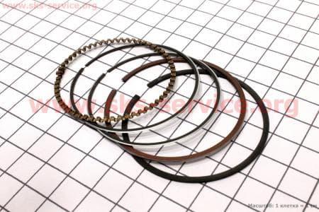 Кольца поршневые 100сс 50мм +0,25 для мопедов Delta (Viper) купить в Украине