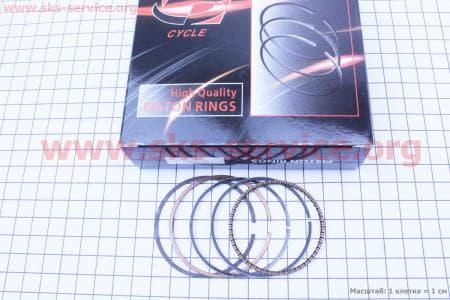 Кольца поршневые 110сс 52,4мм STD для мопедов Delta (Viper) купить в Украине