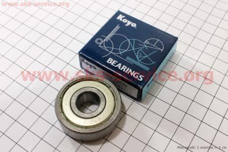 Подшипник колеса заднего 6301 ZZ (12*37*12) для мопедов Delta (Viper) купить в Украине