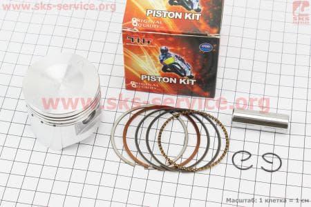 Поршень, кольца, палец к-кт 100cc 50мм +0,25 для мопедов Delta (Viper) купить в Украине