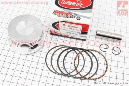 Поршень, палец, кольца к-кт 110сс 52,4мм +0,50 для мопедов Delta (Viper) купить в Украине