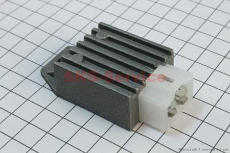Реле-регулятор напряжения (4 контакта квадратом) для мопедов Delta (Viper) купить в Украине