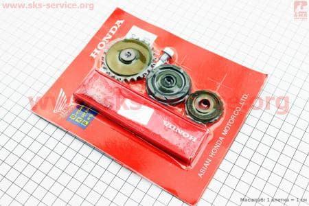 Цепь распредвала 110сс - 25H-84L + ролики 3шт для мопедов Delta (Viper) купить в Украине