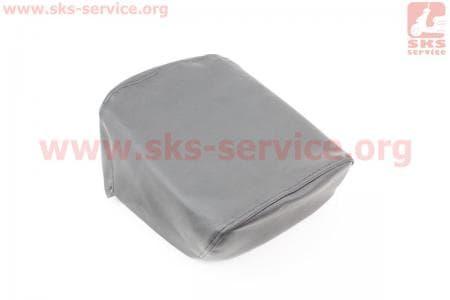 Чехол сидения заднего узкого, 210мм (эластичный, прочный материал) черный для мопедов Delta (Viper) купить в Украине
