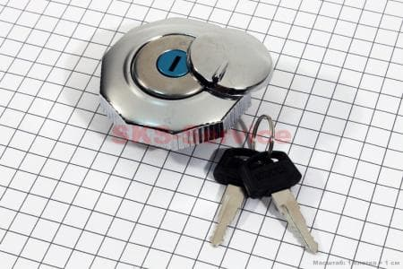 Крышка бака (с ключом) для мопедов ALPHA (Viper) купить в Украине