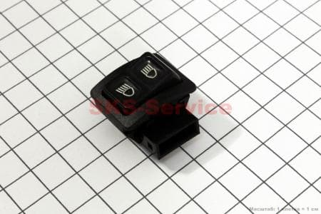 Кнопка - бл/дальний свет 3 контакта для мопедов Active (Viper) купить в Украине
