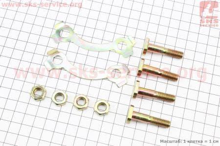 Болт крепления звезды задней к-кт 4шт + шайбы для мопедов SPORT50 MX50V(Suzuki) (Viper) купить в Укриане