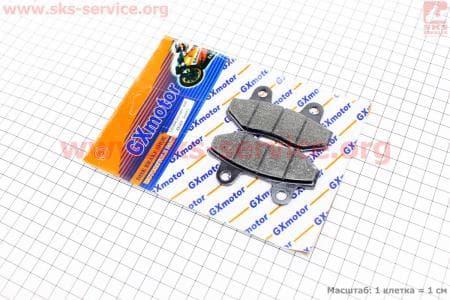 Тормозные колодки дисковые без уха к-т(2шт.) для мопедов SPORT50 MX50V(Suzuki) (Viper) купить в Украине