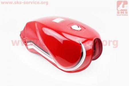 Бак топливный КРАСНЫЙ для мотоцикла VIPER 125-200сс купить в Украине