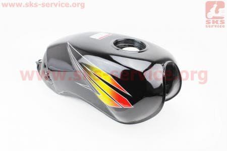 Бак топливный ЧЕРНЫЙ для мотоцикла VIPER 125-200сс купить в Украине