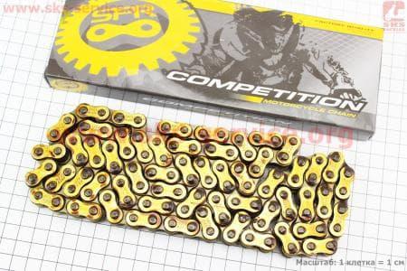 Цепь привода колеса 428Н*112L GOLD для мотоцикла VIPER 125-200сс купить в Украине