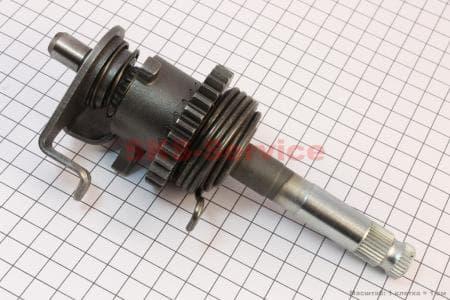 Вал кик-стартера в сборе CG-150/200, тип 1 для мотоциклетных двигателей CG125-200cc купить в Украине