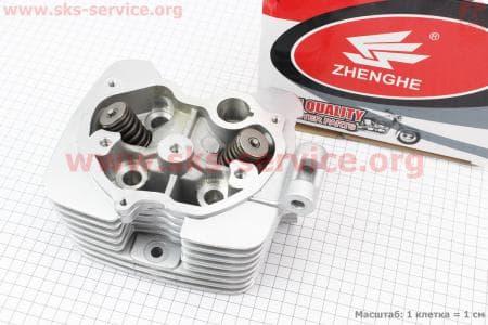Головка цилиндра 150cc-62mm + клапана к-кт для мотоциклетных двигателей CG125-200cc купить в Украине
