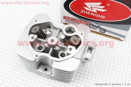 Головка цилиндра 200cc-63,5mm + клапана к-кт для мотоциклетных двигателей CG125-200cc купить в Украине
