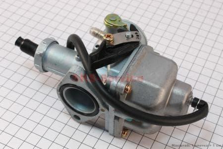 Карбюратор СВ/CG-125 (дросель ручной) для мотоциклетных двигателей CG125-200cc купить в Украине
