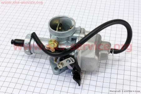 Карбюратор СВ/CG-150 (дросель ручной) для мотоциклетных двигателей CG125-200cc купить в Украине