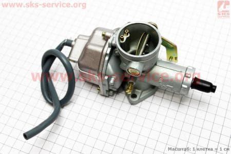 Карбюратор СВ/CG-150 (дросель под трос) для мотоциклетных двигателей CG125-200cc купить в Украине