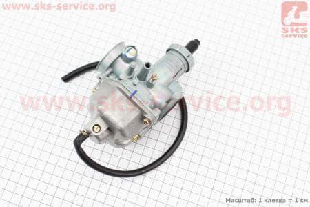 Карбюратор СВ/CG-200 (дросель под трос) для мотоциклетных двигателей CG125-200cc купить в Украине