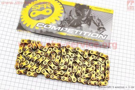 Цепь привода колеса 428Н*128L GOLD для мотоцикла VIPER - F5 купить в Украине