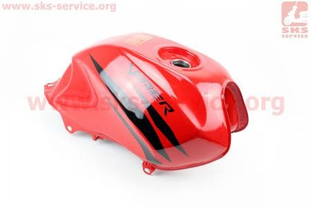 Бак топливный, КРАСНЫЙ для мотоцикла VIPER V150A (STREET) купить в Украине