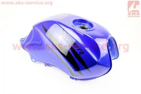 Бак топливный, СИНИЙ для мотоцикла VIPER V150A (STREET) купить в Украине