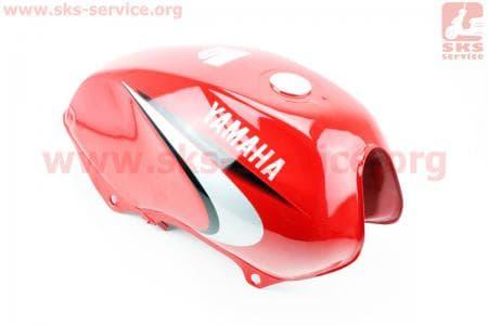 Бак топливный КРАСНЫЙ для мотоцикла  JIANSHE YB125 / Yamaha - YBR125 купить в Украине