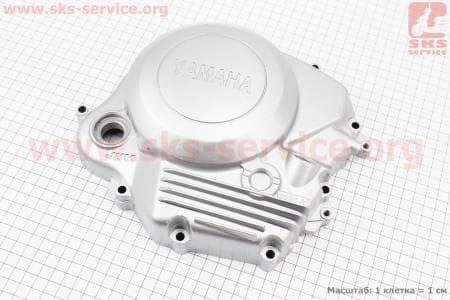 Крышка двигателя правая для мотоцикла  JIANSHE YB125 / Yamaha - YBR125 купить в Украине