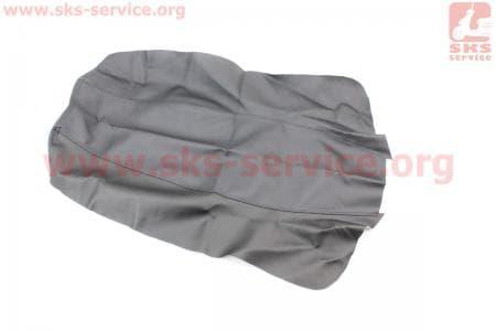 Чехол сидения (эластичный, прочный материал) черный для мотоцикла  Loncin KINLON JL150