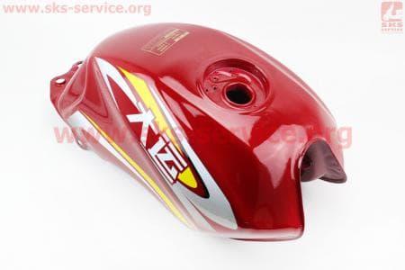 Бак топливный, КРАСНЫЙ для грузового мотоцикла Viper - ZUBR купить в Украине
