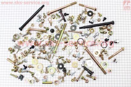Болты, гайки, втулки, шайбы, крепеж в наборе на мотоцикл 250сс - 202ед. купить в Украине