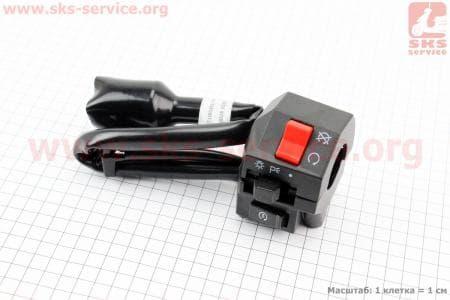Loncin- LX200GY-3 Блок кнопок на руле правый купить в Украине
