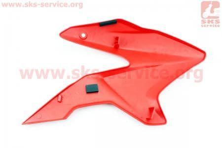 Loncin- LX200GY-3 пластик - бака топливного левый, КРАСНЫЙ купить в Украине