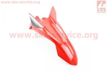 Loncin- LX200GY-3 пластик - Крыло переднее, КРАСНЫЙ купить в Украине