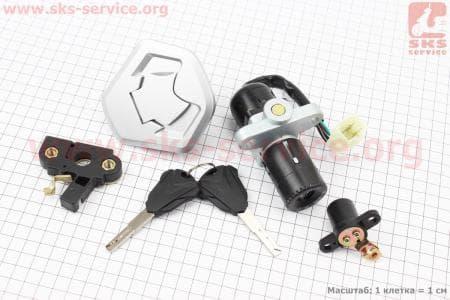 Loncin- LX250GY-3 Замки к-кт (зажигания, крышка бака)  купить в Украине