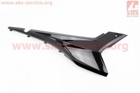 Loncin- LX250GY-3 пластик - боковой средний правый, ЧЕРНЫЙ купить в Украине