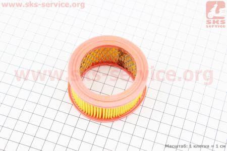Фильтр воздушный для китайских бензопил 4500/5200 - элемент (круглый, бумажный 70x37мм)