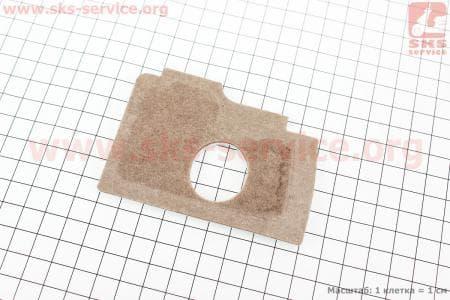 Фильтр-элемент воздушный MS-170/180 (войлок, коричневый), нового образца