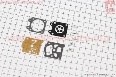 Ремкомплект карбюратора (полный),9 деталейдля бензопил Partner