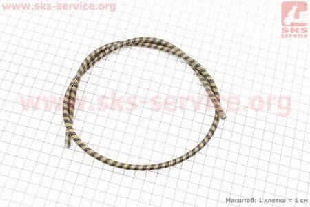 Вал приводной (трос) Ø6мм 4х4шлицов L=720мм для мотокос