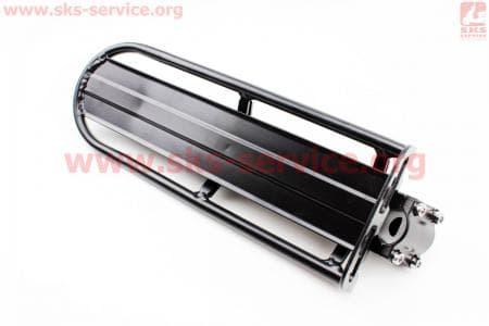 """Багажник 24 - 26"""" алюминий консольный, крепл. за трубу сидения, черный для велосипедов"""