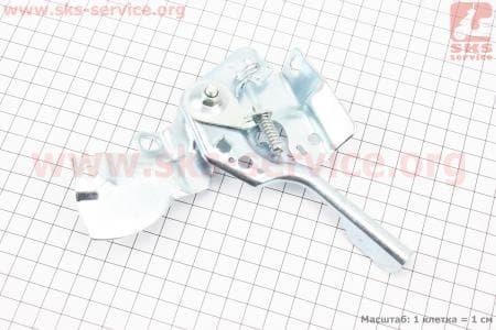 Регулятор газа (механизм управления дроссельной заслонкой) Тип №2 для мотоблока